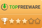 Top Freeware 3 stars award