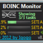 Freeware - BOINC Monitor 9.83 screenshot