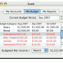 Freeware - Buddi for Mac 3.4.1.16 screenshot