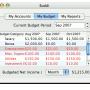 Freeware - Buddi for Mac 3.4.1.11 screenshot