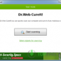 Freeware - Dr.Web CureIt! 23 March 2018 screenshot