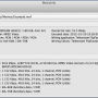 Freeware - MediaInfo for Mac OS X 0.7.97 screenshot